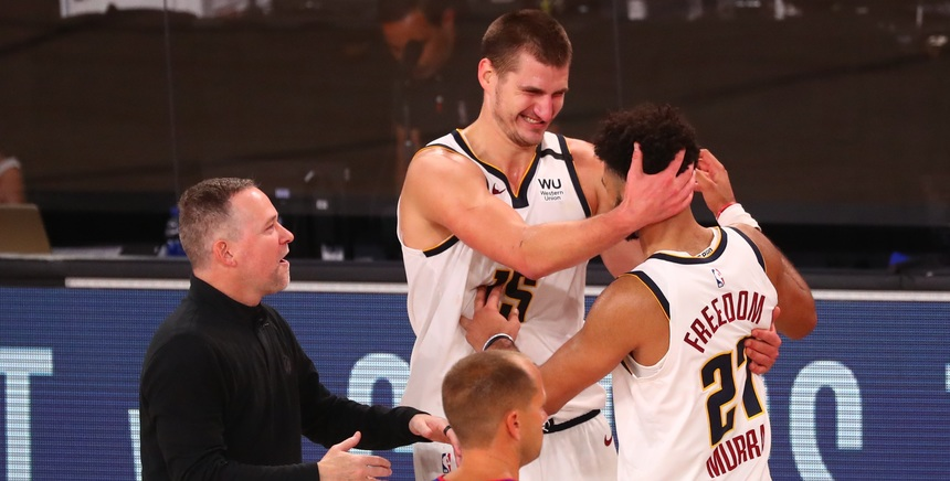 Nuggets beat Clippers, advance to WCF