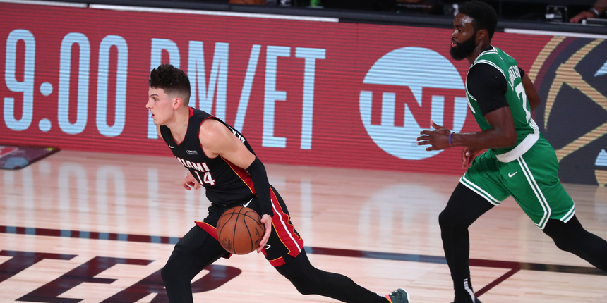 Tyler Herro breaks Heat rookie playoff record