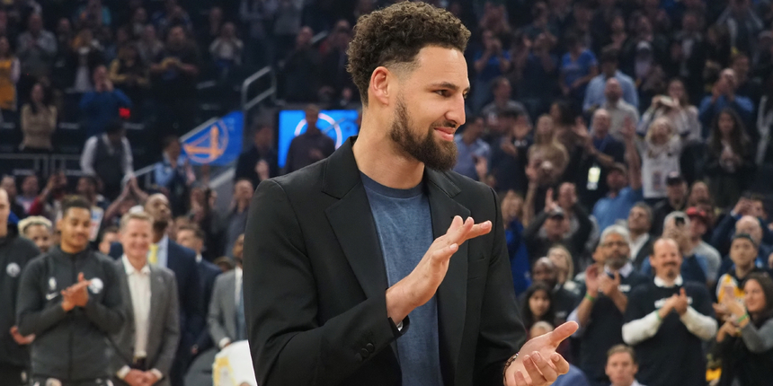 Klay Thompson returns to practice for Warriors