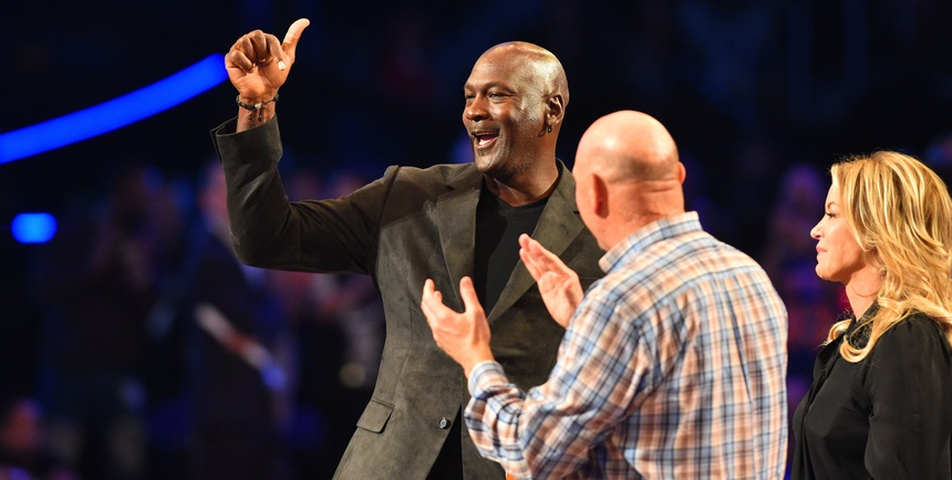 MJ among NBA Foundation Board of Directors