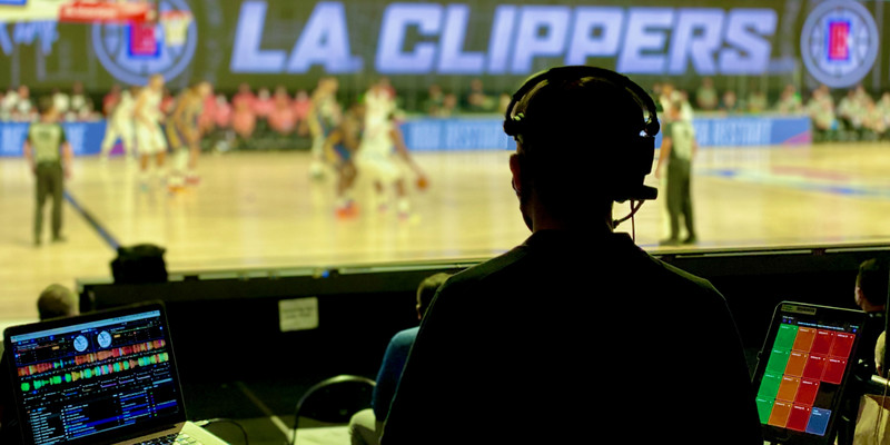 Behind the scenes with NBA-bubble DJ Andy Kinzel