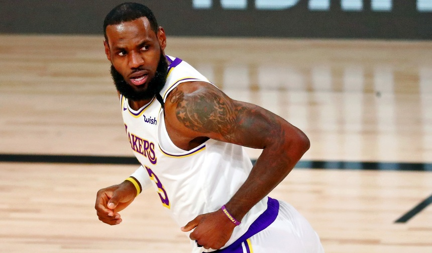 LeBron James gets Finals MVP, Lakers win title
