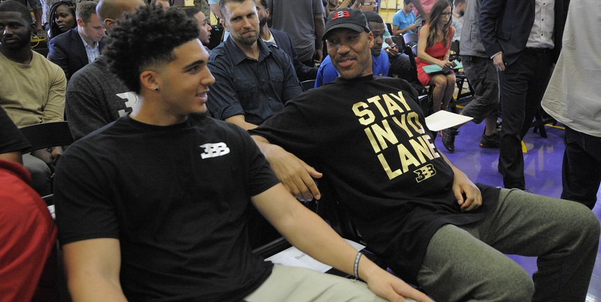 You can't call LaVar Ball a bad father