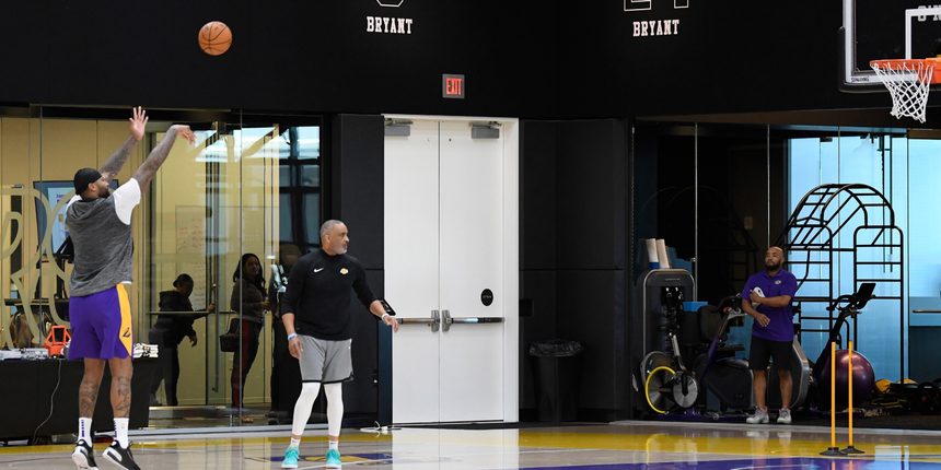 NBA considering playing at practice facilities, G League arenas