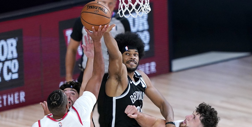 Nets' Jarrett Allen on trade rumors, Steve Nash hire, KD's health, more