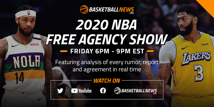 BasketballNews.com's 2020 NBA Free Agency Show