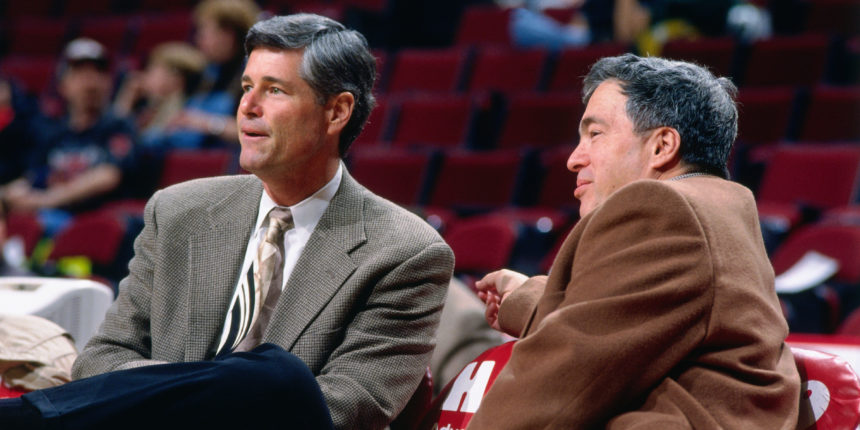 Pete Babcock and Jerry Krause
