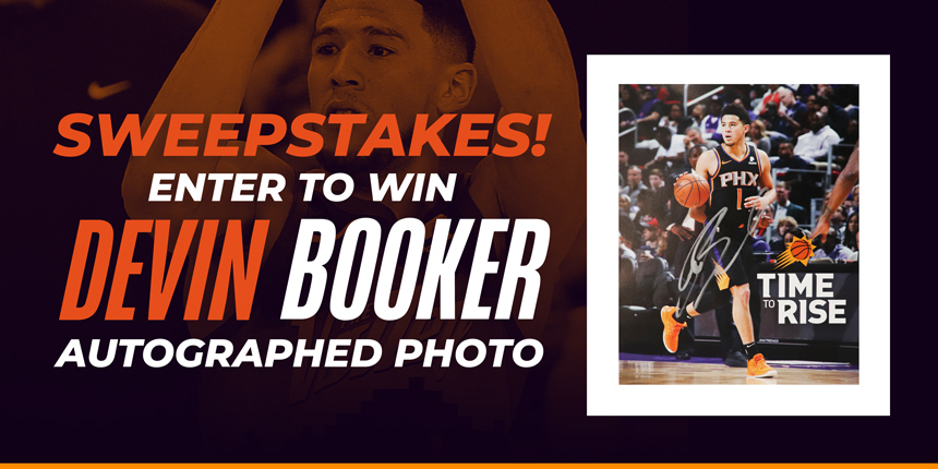Devin Booker Sweepstakes